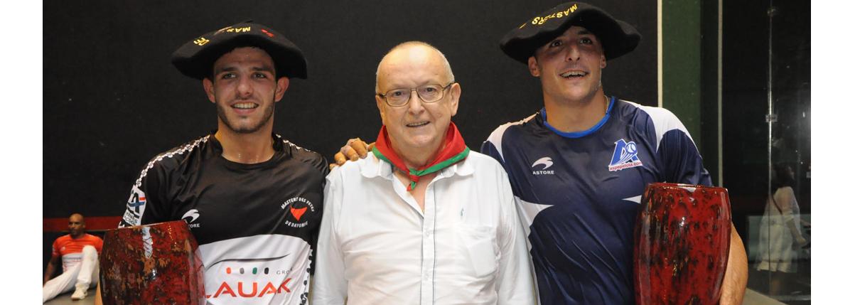 <strong>La disparition de Jean-Marie Mailharro : un grand serviteur de la pelote basque</strong>