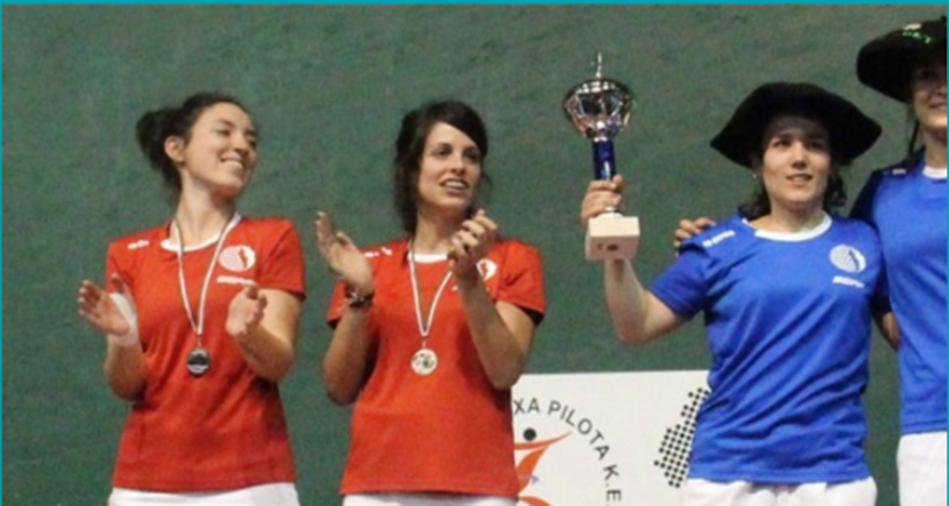Un tournoi de main nue pour les femmes au Pays Basque Sud