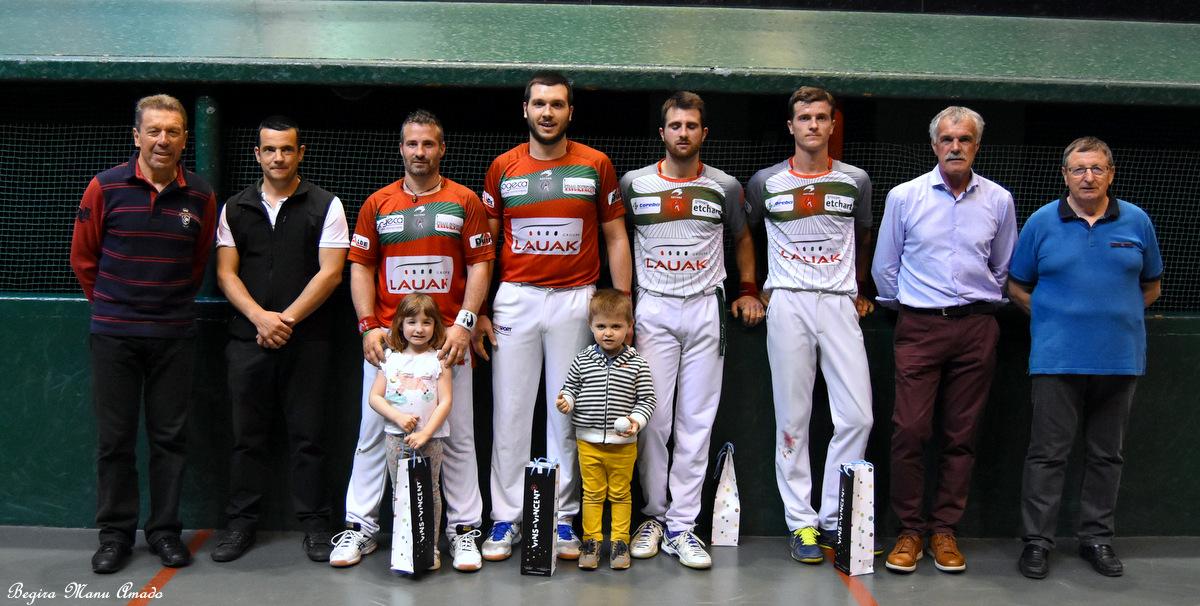 Aguirre-Bénesse remportent le tournoi du jambon
