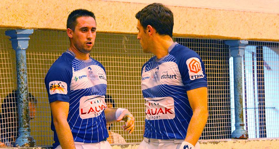 Inchauspé-Çubiat remportent le tournoi de Saint-Palais