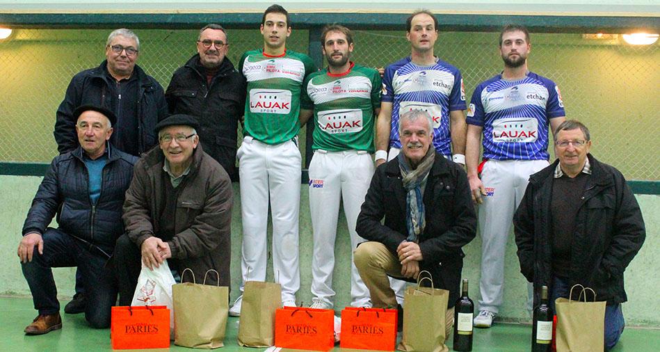 Olçomendy-Sanchez remportent le tournoi de Bussunarits