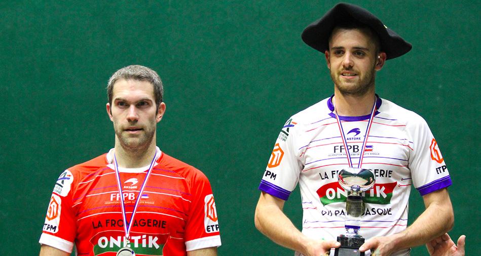 Mickaël Darmendrail champion de France en groupe B