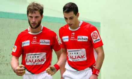 Baigorri : Monce-Sanchez en demi-finale
