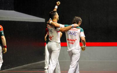 Echeverria-Sanchez rejoignent les frères Larralde