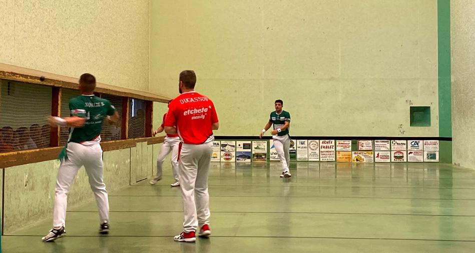 Larralde-Larralde et Echeverria-Sanchez en finale à Larrau