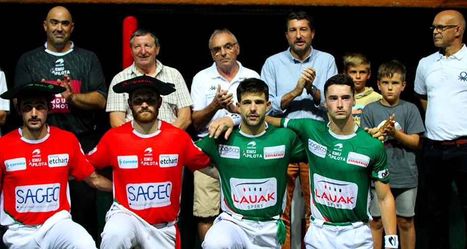 Masters de Dax : Ospital-Ducassou remportent la 1re édition