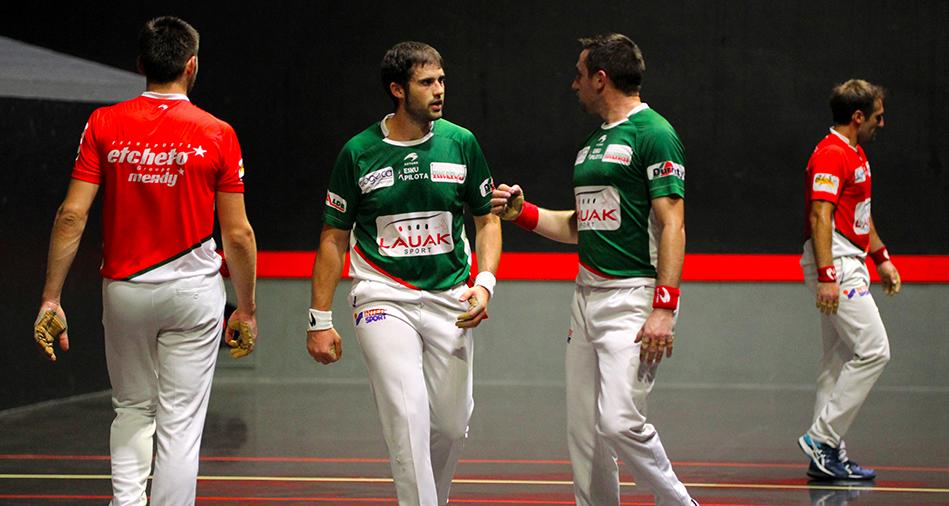 Elgart-Çubiat vainqueurs contre Olçomendy-Iphar